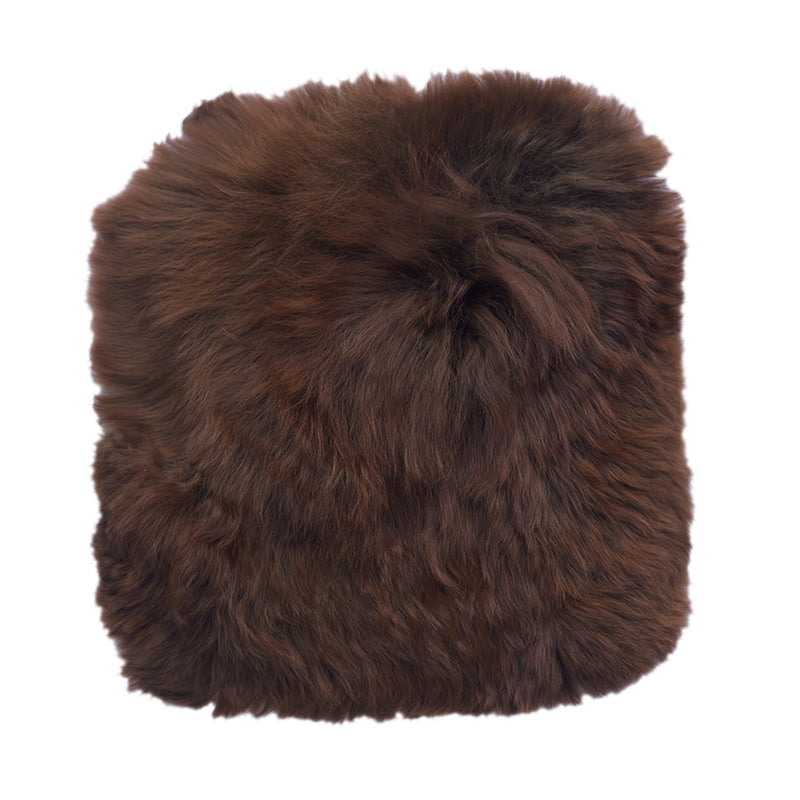 dark brown alpaca fur