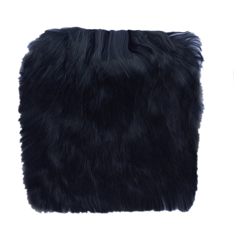 black alpaca fur