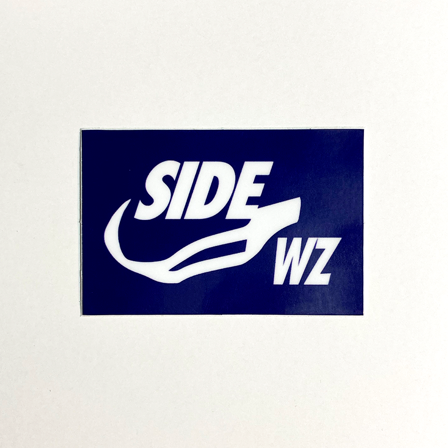 SIDE WZ - Logo - Sticker