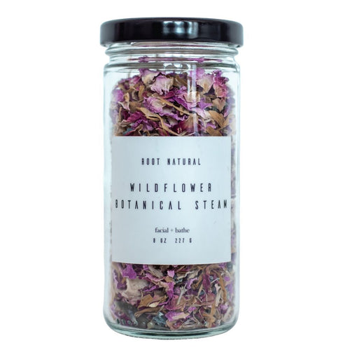 botanical steam facial steam natural facial wildflower