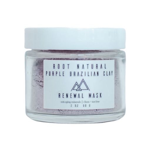 Purple Brazilian Clay Anti-Aging Mask Root Natural Soap