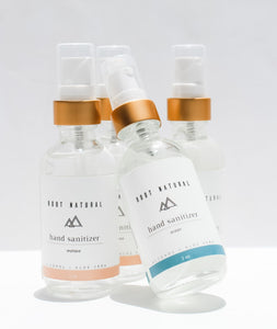 Hand Sanitizer Purifying Gel + Alcohol Root Natural Soap
