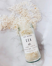 Load image into Gallery viewer, Root Natural Soap Sea Soaking Salts with Bergamot 8 oz bottle