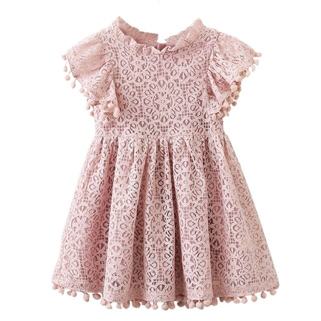 Xmas Baby Girls Knitted Dress Ruffle lattice Sweater Toddler Girl  Warm Clothes Infant Girls outfit For Winter Autumn Dresse2-7y