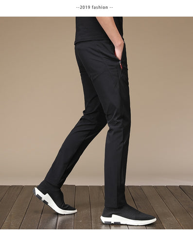 Men's Straight  Streetwear Casual Pant