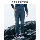SELECTED Men's Washed Denim Pants