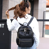 Nylon  Backpack   Travel Bags   Teenage