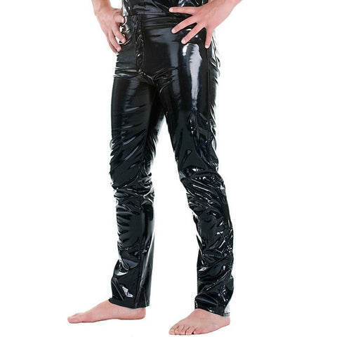 ZOGAA Hot New Sexy Men Leather Pants