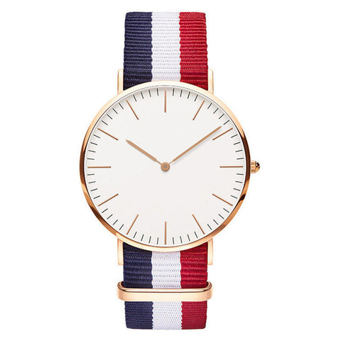 Nylon Strap   Quartz Women Watch