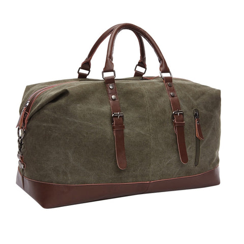 Waterproof Canvas Travel Bag