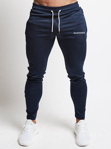 Fashion Stitching Men Pants Fitness