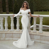 Women Party Fishtail Long Dress Ball Gown Sexy