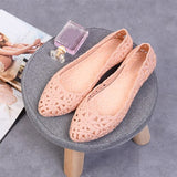 Women Hollow Out Flats 2020 Woman Comfortable Loafers