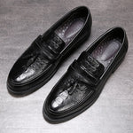Business Shoes Men Leather Footwear