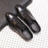 Oxfords Shoes Men Soft Leather Brand Footwear Fashion Oxfords Business Casual Shoes High Quality Mens Black Leather Shoes KA149