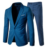 Luxury Men  Suit Male Blazers Slim Fit Suits for Men
