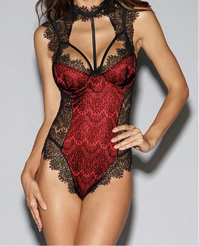 Hot Sale Women Sexy Lace Bodysuits High Quality Comfort