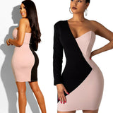 Hot Women's Bandage Bodycon Long Sleeve