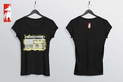 Survivor Flag T-Shirt. 1.0