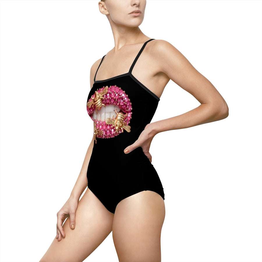 Bumble Bees One-Piece Swimsuit