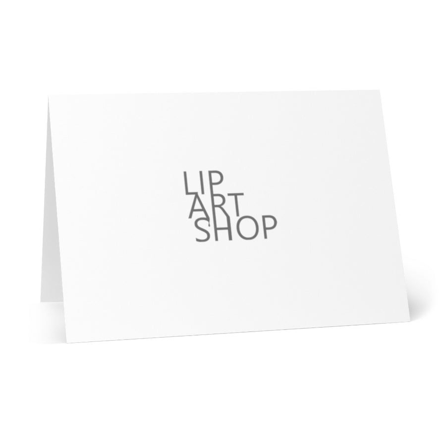 Rainy Day Greeting Cards (8 pcs) - White
