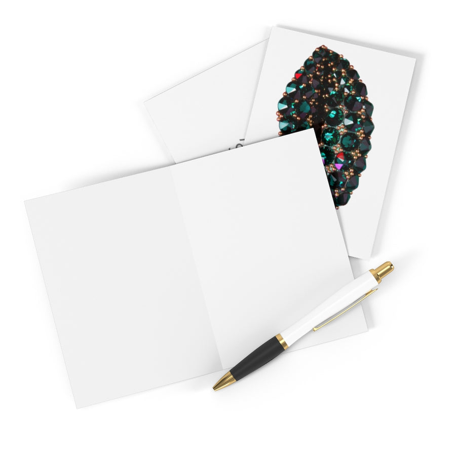 Envious Greeting Cards (8 pcs) - White