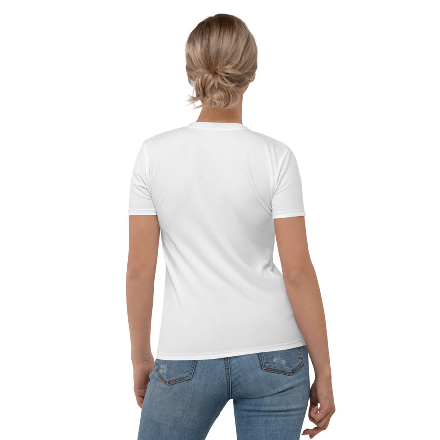 Bumble Bees Women's Crew Neck T-Shirt White