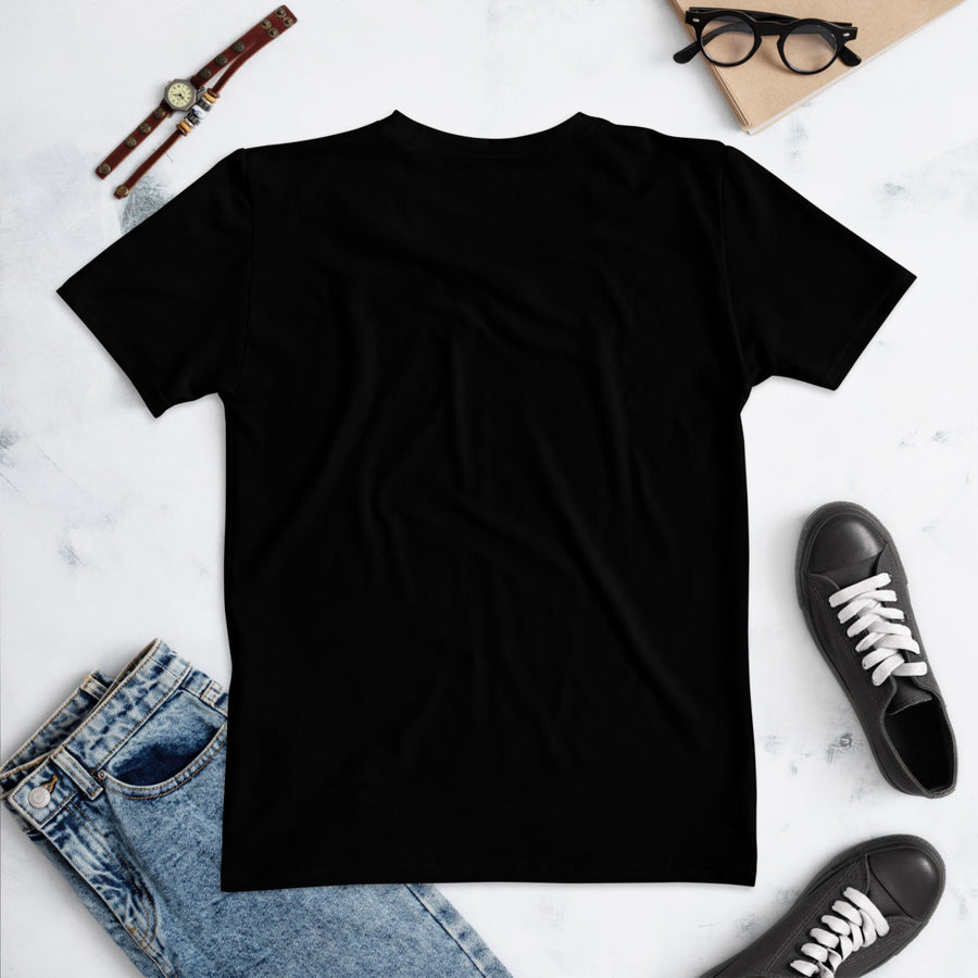 Fetch Women's Crew Neck T-Shirt Black