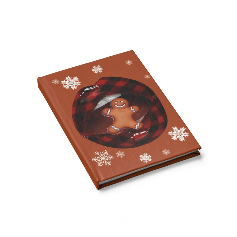 Gingerbread Person Mini Journal - Blank Pages