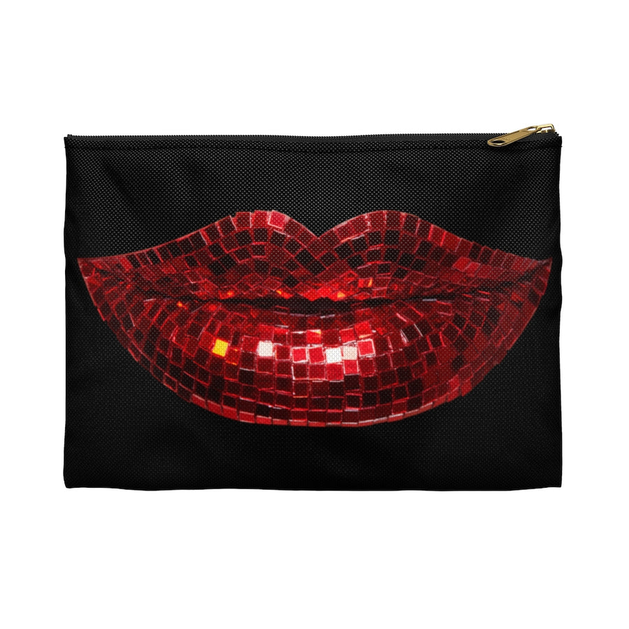 Disco Red Accessory Pouch