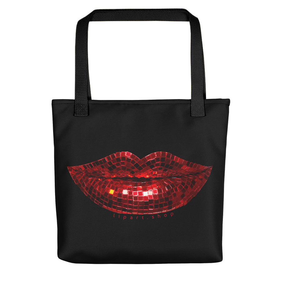 Disco Red Tote Bag
