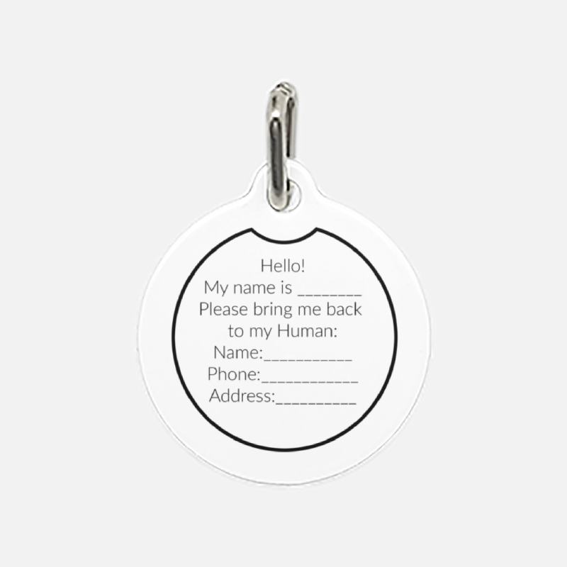Rock Candy Pet Tag