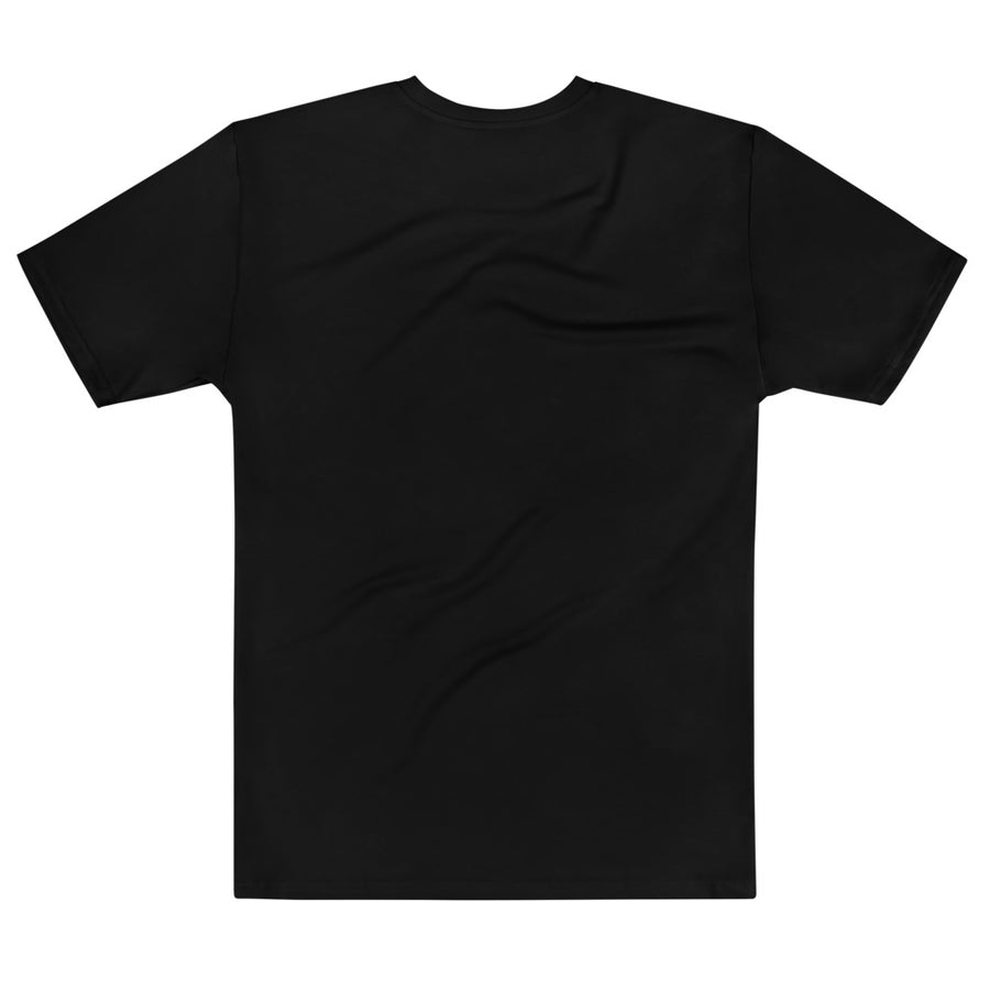 Rose Gold Crew Neck T-shirt Black