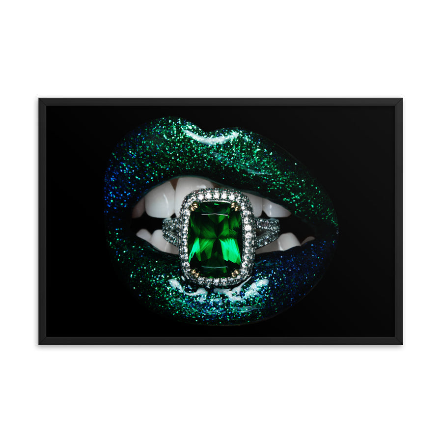 Envy Framed Poster Black