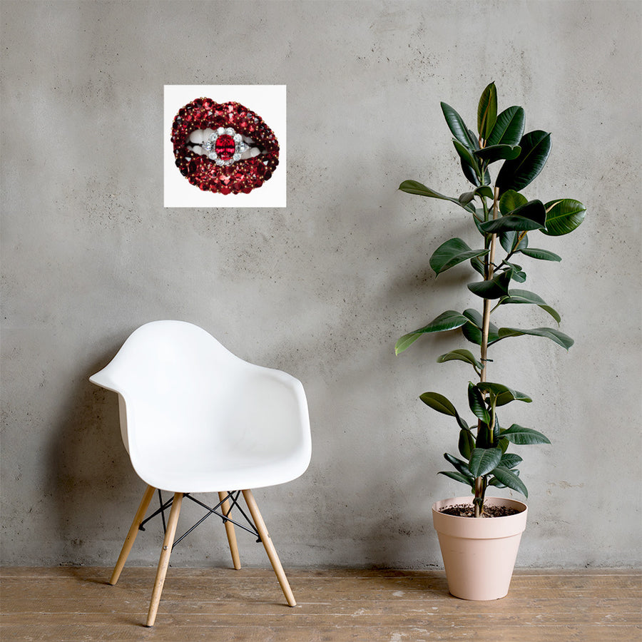 Ruby Poster White