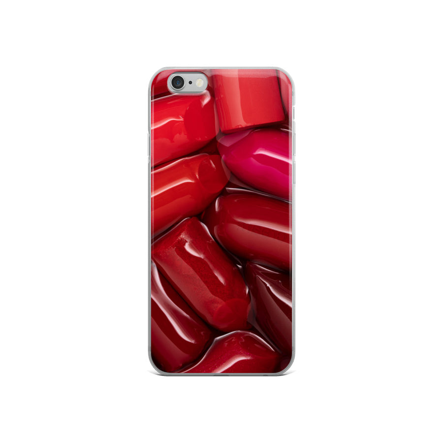 Lipstick Tart iPhone Case