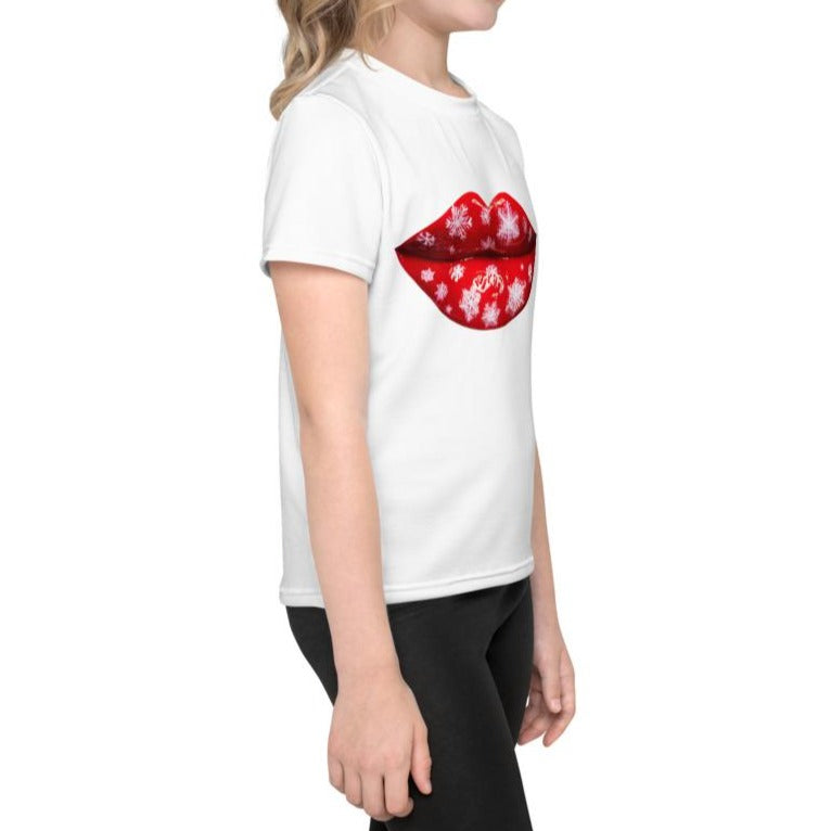 Snowflakes Kids T-Shirt White