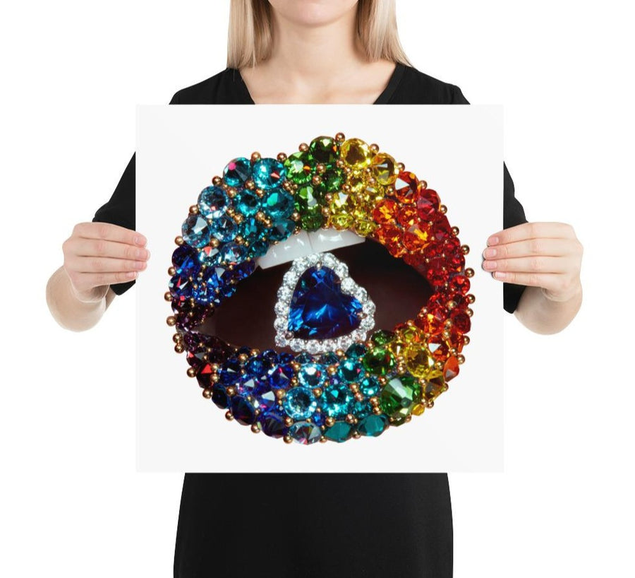 Love Is Love Poster White