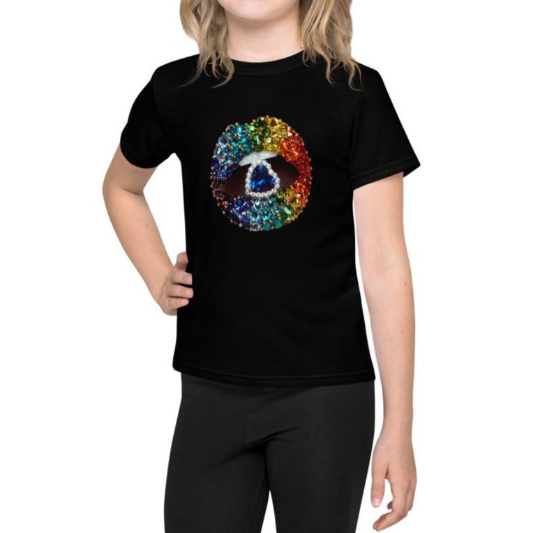 Love is Love Kids T-Shirt Black