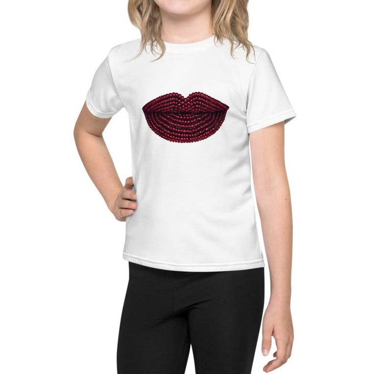 Pomegranate Kids T-Shirt White