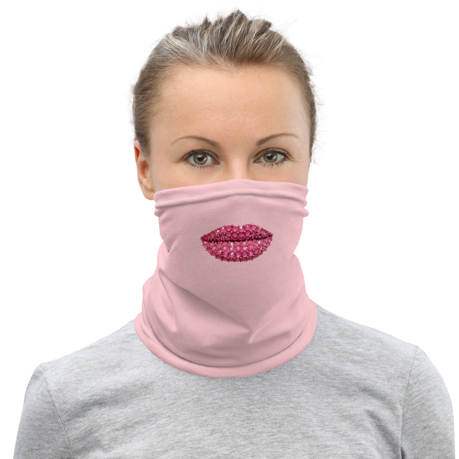 Rock Candy Face And Neck Cover Pink