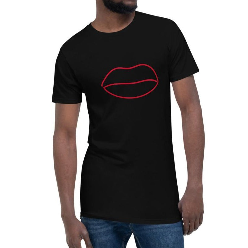 Lip Line Long Body Urban Tee 100% Cotton