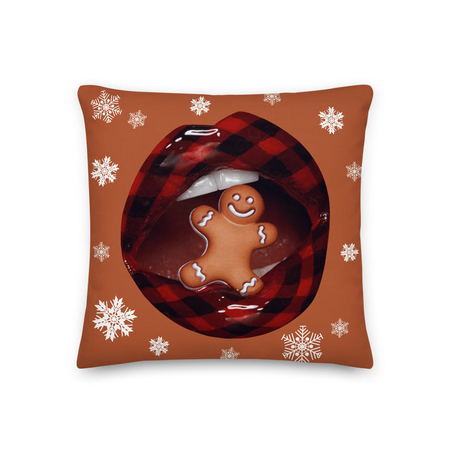 Gingerbread Person Pillow