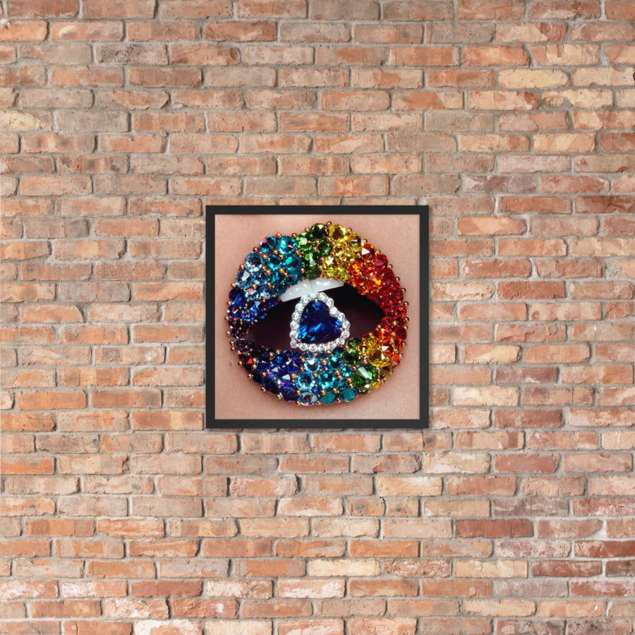Love Is Love Framed Original Print