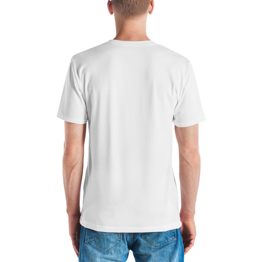 Golden Honey Men's Crew Neck T-shirt White