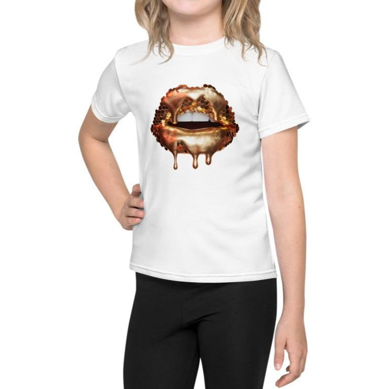 Golden Honey Kids T-Shirt White