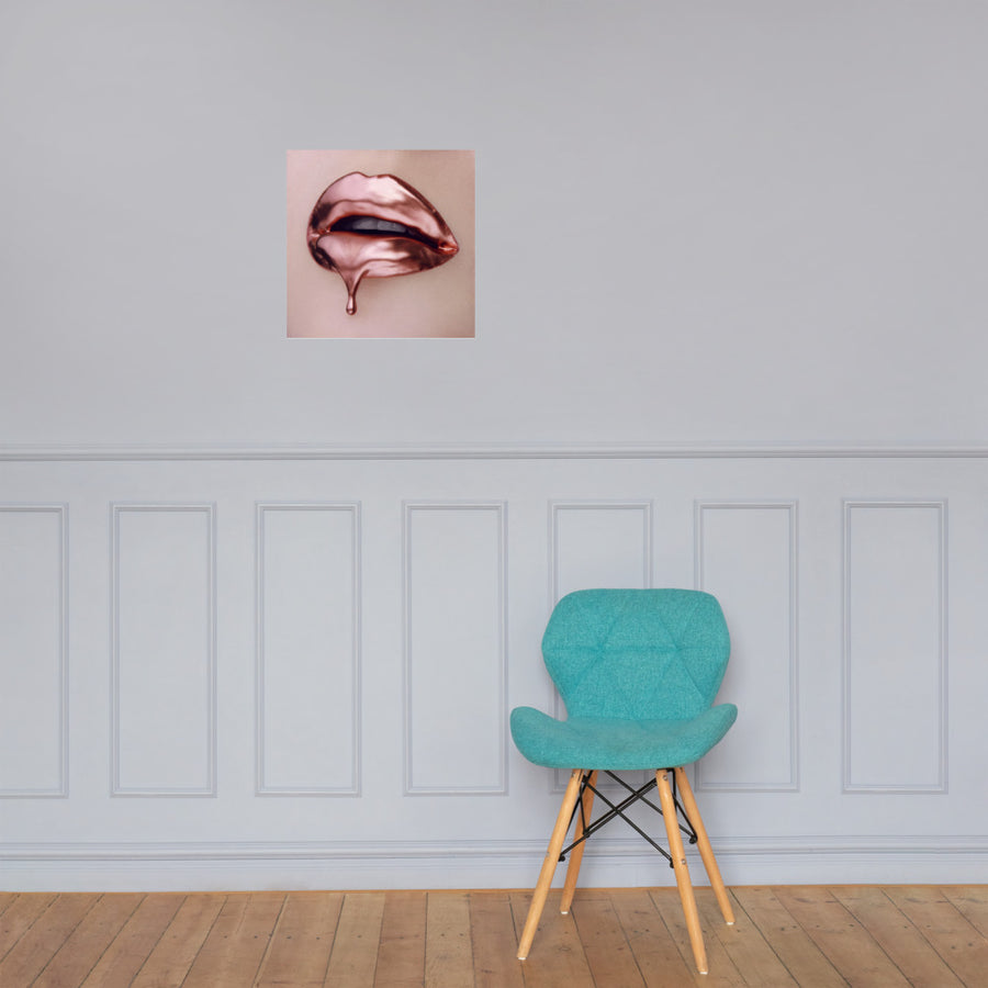 Rose Gold Poster