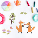 Stickers Renard <br> Mural Enfant
