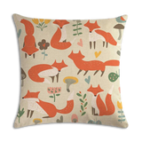 Coussin Renard <br> Champs