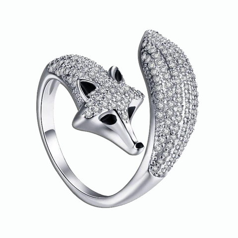 Bague Renard Strass | Malin-Renard